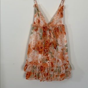 REVOLVE babydoll dress!